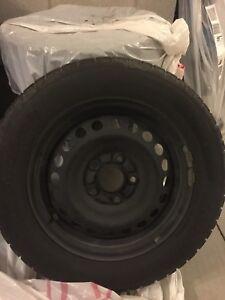 Honda Civic Winter Wheels and Tires 4