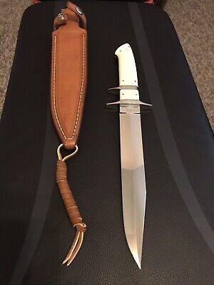 JOE KIOUS CUSTOM INTEGRAL BIG BEAR SUB HILT FIGHTER KNIFE-RARE-LOVELESS INSPIRED