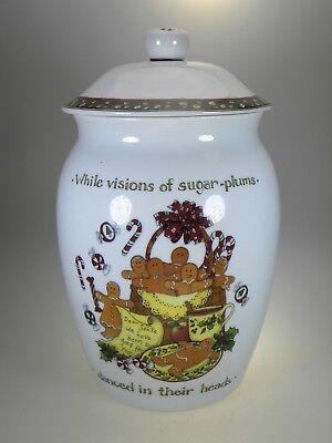 Portmeirion Cookie Jar (Portmeirion Christmas Story Cookie Jar)