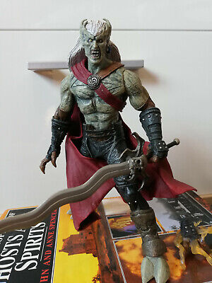 RARE Legacy of Kain: Defiance 'Kain' Action figure (NECA: Player Select) unboxed