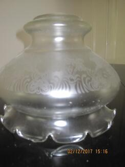 etched glass light shade Brighton Bayside Area Preview