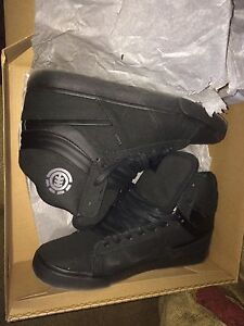 NEED GONE Men's all black Element shoes