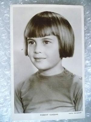 Real Photo Postcard- Robert Coogan, American film Actor (Picturegoer Series)