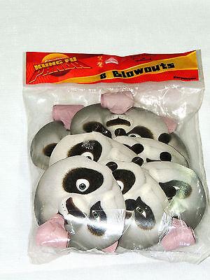 Kung Fu Panda Party Supplies ( KUNG FU PANDA  8- PARTY BLOWOUTS , MULTI-COLOR    PARTY SUPPLIES)