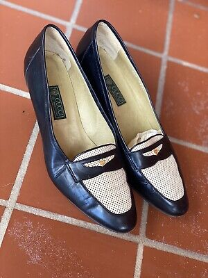 Vintage 80's? Gucci 38 1/2 B Penny Loafer Italian Made