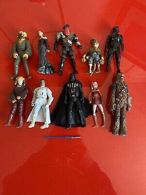 10x Hasbro 2000+ Star Wars Action Figures Bundle job lot - STAR WARS - (1)