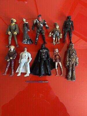 10x Hasbro 2000+ Star Wars Action Figures Bundle job lot - STAR WARS - (1)
