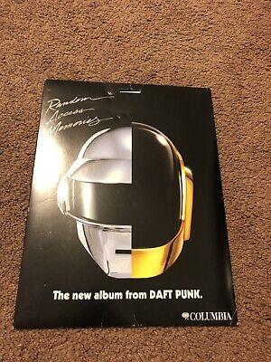 Unused Daft Punk Random Access Memories Album Promo Paper Mask Not For Sale segunda mano  Embacar hacia Argentina