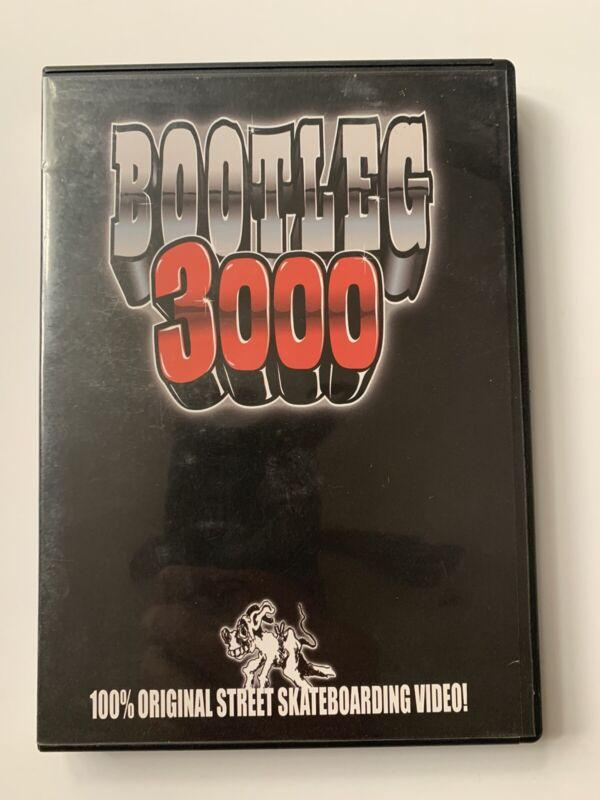 2003 Bootleg 3000 Skate Video Skateboard DVD Baker Spin Off