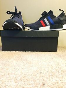 Adidas NMD Primeknit Black Tri-colour