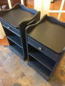 Matching Bedside Tables (3 Available)