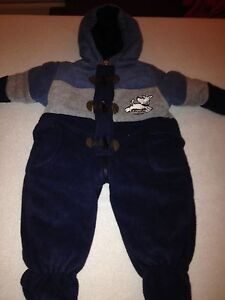 Boys 6 to 9 month Oshkosh snowsuit