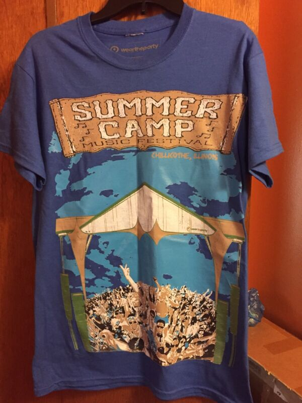 Summer Camp Music Festival 2012 T Shirt Janes Addiction Moe Umphrey Primus SMALL