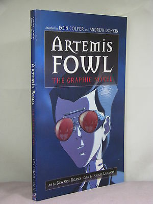 1St Signed By Author Artemis Fowl The Graphic Novel By Eoin Colfer Donkin  2007