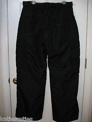 New Men's Old Navy $80 Black Cargo Ski Pants Teen Boy Snowbo