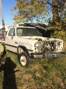 92 dodge w250 chassis and cab