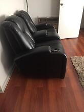 Leather 2 seater electronic recliner lounge Modbury Tea Tree Gully Area Preview
