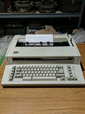 Ibm Personal Wheelwriter Electronic Typewriter With Dust Cover - Works Great