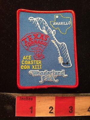 Amarillo Texas Tornado Ace Coaster Con XIII Winter Wonderland Theme Patch 79V7](Winter Wonderland Theme)
