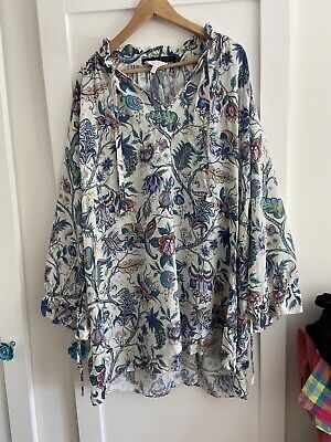 House of Hackney Co-lab & Other Stories Top Size L UK Size 16
