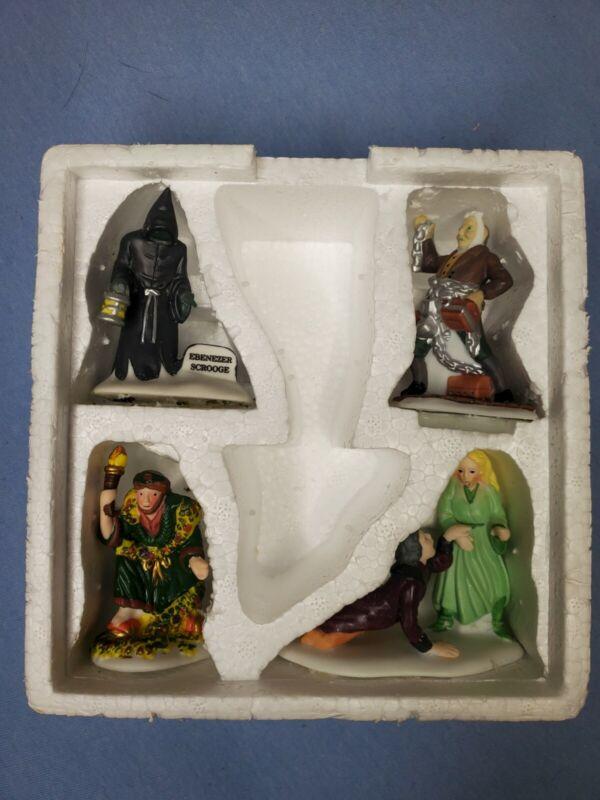 Dept 56 Christmas Carol Spirits  #5589-1 Heritage Village Figures