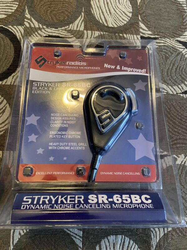 Stryker CB SR-65bc  Microphone For 4-Pin CB / 10 Meter Radios