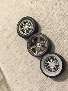 1/18 scale wheels for diecast models (autoart)