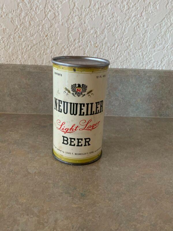 Neuweiler Flat Top Beer Can - NO CONTENTS, Allentown, PA