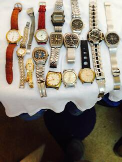 Assorted  watches Banyo Brisbane North East Preview