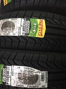 195/60/15 Pirelli P4 Tires