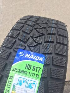 275/55R20 Winter Tires Brand New Set of 4