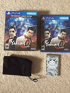 Yakuza 0 for PS4 for sale or trade