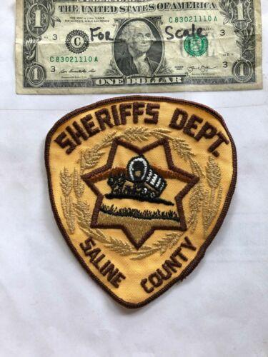Saline County Nebraska Police Patch (Sheriff