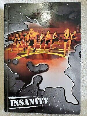 Insanity  Total Body Workout Program 10 Disc DVD Set By Shaun T Beachbody