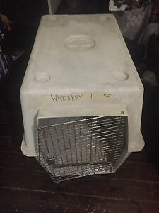 Large travel ready dog crate