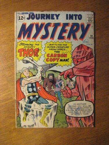 JOURNEY INTO MYSTERY/THOR #90 (FN) Bright & Glossy!