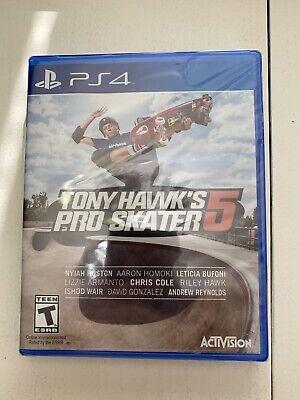 Tony Hawk Pro Skater 5 - Standard Edition PS4 New PlayStation 4, playstation_4