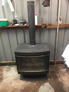 Canterbury cannon gas wood look heater
