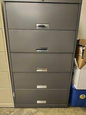 Hon Files Cabinets 625 Series 5-drawer