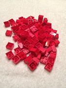 Lego Red Brick Lot