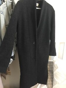 Wilfred Dujardin Boiled Wool Coat Aritzia