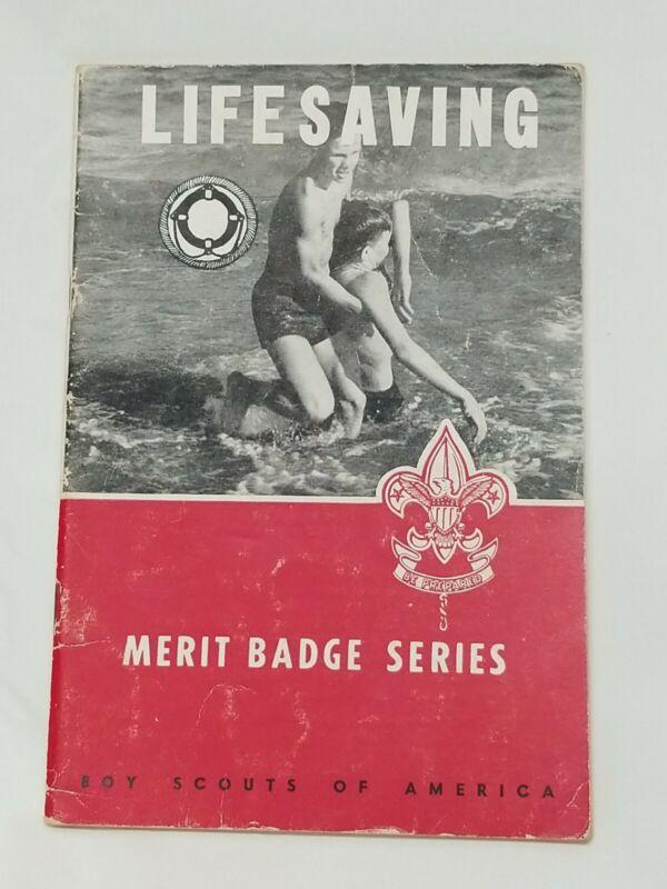 1944 LIFESAVING Merit Badge Series BSA Boy Scouts of America