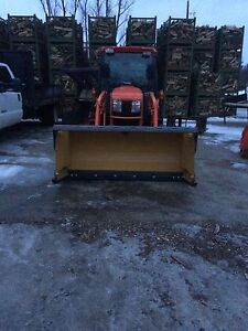 6ft HLA Snow Pusher With Back Drag.