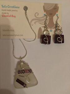 Sea glass/ beach glass/ jewelry