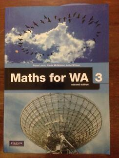 Maths for WA 3  Second Edition (Pearson)
