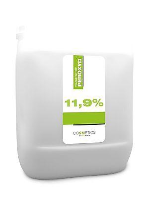 5 Liter -11,9% Wasserstoffperoxid-Wasserstoffperoxyd-H2O2 flüssig-keine Creme