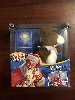 Elf On The Shelf Elf Pets Dog Puppy Saint Bernard Christmas