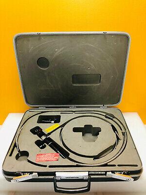 Olympus If11d2uv-1.5 Fiber Optic Borescope Acmi 5050cctv Lens Carry Case.