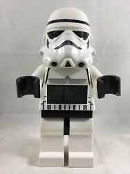 Lego STAR WARS Storm Trooper Digital Battery-Operated Alarm Clock Minifigure