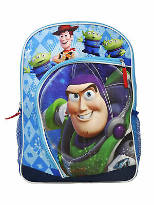 "Used, Toy Story Buzz Lightyear Backpack 16"" Zipper Front Pocket for sale  Shipping to India"